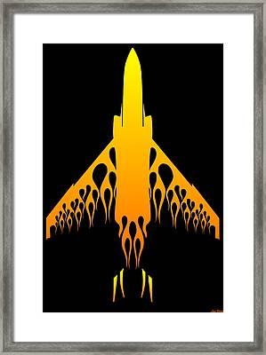 Phantom Flame Framed Print by Lyle Brown