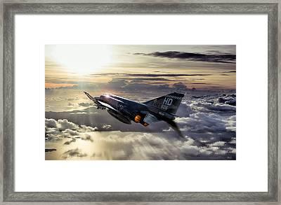 Phantom Sunrise Framed Print by Peter Chilelli