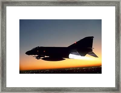 Phantom Sunset Framed Print by Peter Chilelli