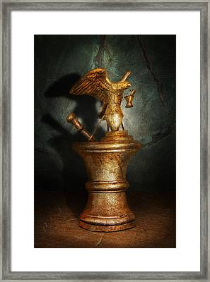 Pharmacy - Pestle - Proud Pharmacists  Framed Print by Mike Savad