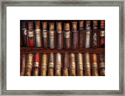Pharmacy - Pharmacy Cocktails Mix Framed Print by Mike Savad
