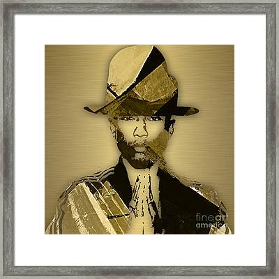 Pharrell Williams Collection Framed Print by Marvin Blaine