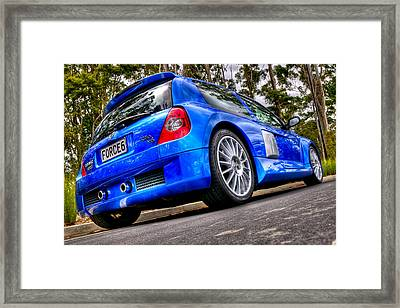 Phase 2 Clio V6 Framed Print by motography aka Phil Clark