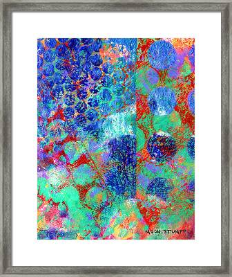 Phase Series - Movement Framed Print by Moon Stumpp