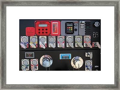 Phd In Fireman Framed Print by Skip Willits