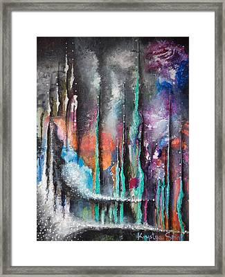 Phenomenon Framed Print by Krystyna Spink