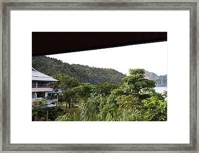 Phi Phi Cabana Hotel - Phi Phi Island - 01131 Framed Print by DC Photographer