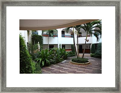 Phi Phi Cabana Hotel - Phi Phi Island - 01132 Framed Print by DC Photographer