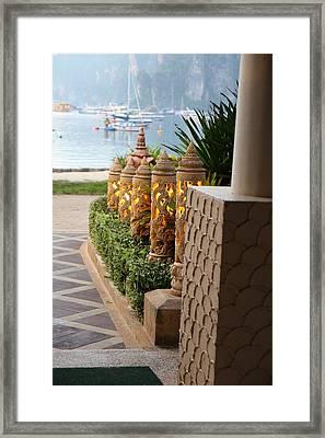 Phi Phi Cabana Hotel - Phi Phi Island - 01134 Framed Print by DC Photographer