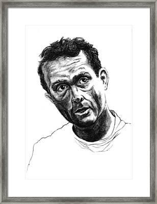 Phil Hill Framed Print by Diane Fine