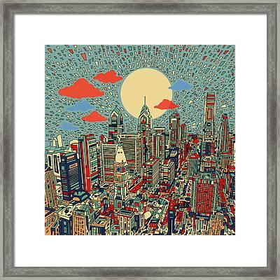 Philadelphia Dream 2 Framed Print by Bekim Art