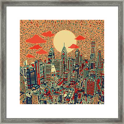 Philadelphia Dream Framed Print by Bekim Art
