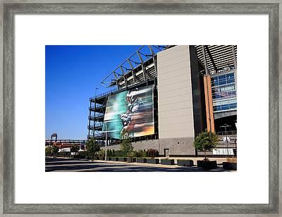 Philadelphia Eagles - Lincoln Financial Field Framed Print by Frank Romeo
