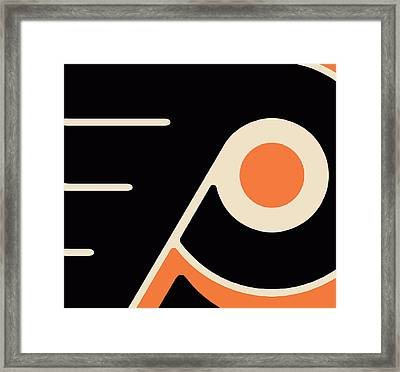 Philadelphia Flyers Framed Print by Tony Rubino