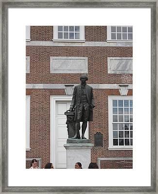 Philadelphia Pa - 121228 Framed Print by DC Photographer