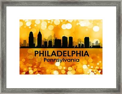 Philadelphia Pa 3 Framed Print by Angelina Vick