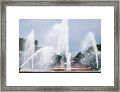 Philadelphia - Swann Memorial Fountain Framed Print by Bill Cannon