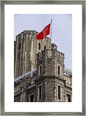 Philadelphia - Temple University Framed Print by Bill Cannon