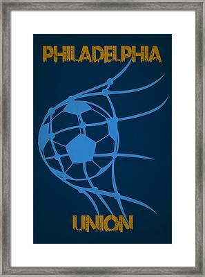 Philadelphia Union Goal Framed Print by Joe Hamilton