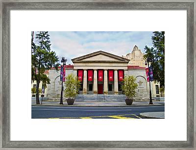 Philadelphia University Of The Arts Framed Print by Bill Cannon