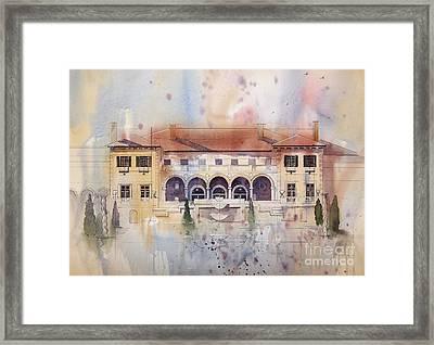 Philbrook Museum Tulsa Framed Print by Micheal Jones