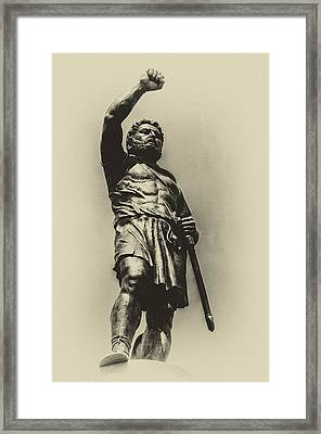 Philip 2 Of Macedon Framed Print by Yevgeni Kacnelson