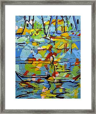 Philip Of The Lake Framed Print by Charlie Spear
