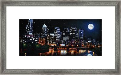 Phillie Framed Print by Thomas Kolendra