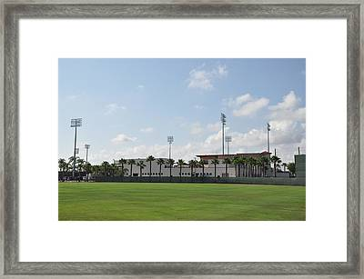Phillies Brighthouse Stadium Clearwater Florida Framed Print by Bill Cannon