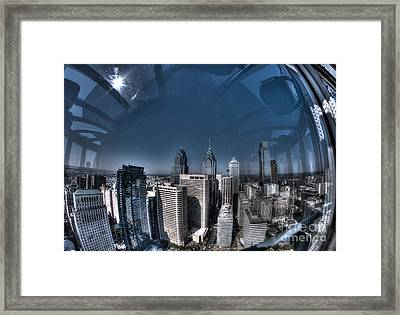 Philly In A Fish Bowl Framed Print by Mark Ayzenberg