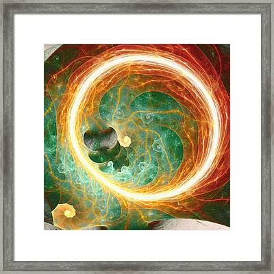 Philosophy Of Perception Framed Print by Anastasiya Malakhova