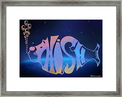 Phish Framed Print by Bill Cannon
