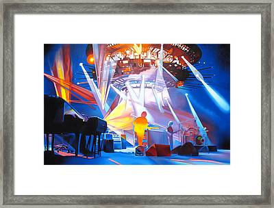 Phish-in Deep Space Framed Print by Joshua Morton