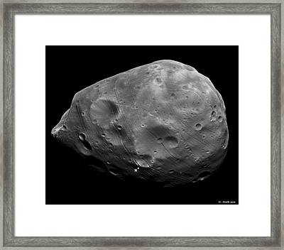 Phobos Framed Print by Science Source