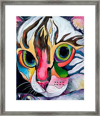 Phoebe Blu Framed Print by Patti Schermerhorn