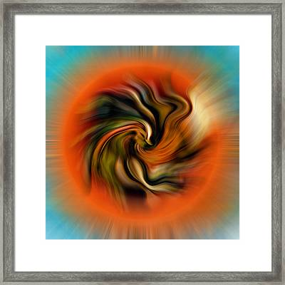 Phoenix Framed Print by Alessandro Della Pietra