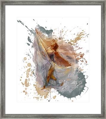 Phoenix Framed Print by Alison Schmidt Carson