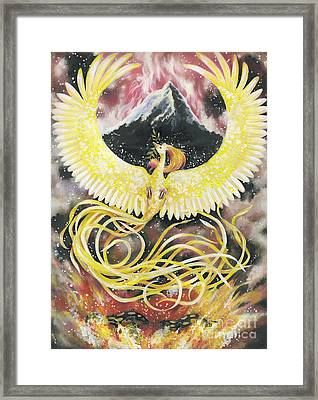 Phoenix Framed Print by Charity Goodwin