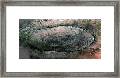 Phoenix Descending - Mars Framed Print by Freyk John Geeris