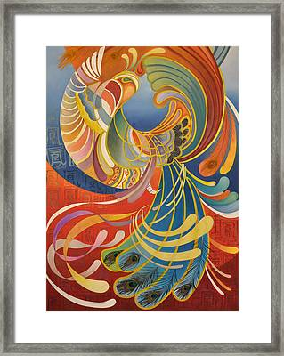Phoenix Framed Print by Ousama Lazkani