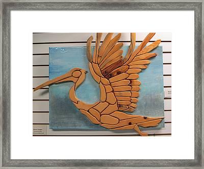 Phoenix Pelican Framed Print by Dedo Cristina