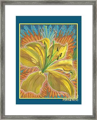 Phoenix Framed Print by Vera Tour
