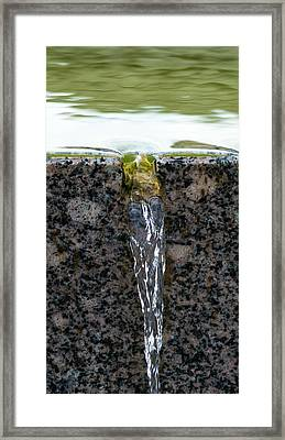 Phone Case - Cold And Clear Water Framed Print by Alexander Senin
