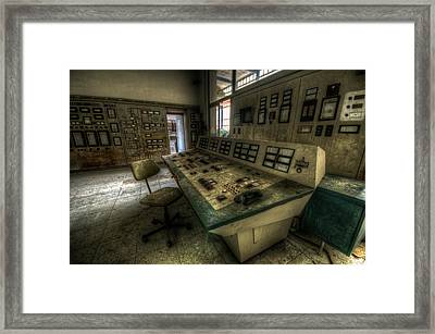 Phone Of Power Framed Print by Nathan Wright