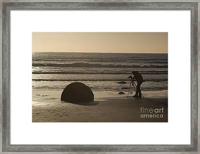 Photograph Framed Print by Astrid Lenz