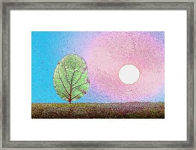 Photosynthesis Framed Print by Carlos Vieira