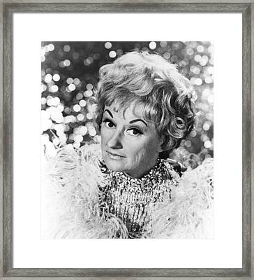 Phyllis Diller, 1969 Framed Print by Everett