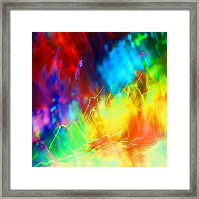 Physical Graffiti 1full Image Framed Print by Dazzle Zazz
