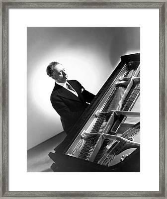 Pianist Artur Rubinstein, 1944 Framed Print by Everett