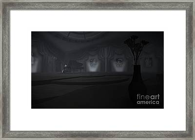 Piano Bar Framed Print by Kyle Walker